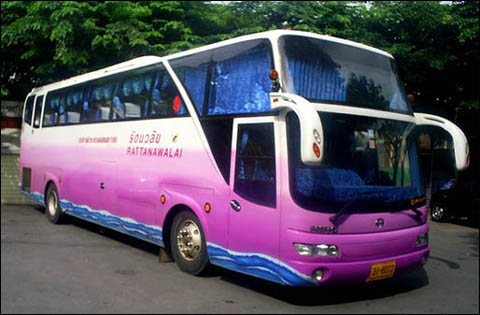 Quick Thai Visa Run New Bus to Cambodia Border
